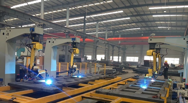 机器人焊接-车厢 (2)