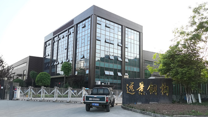 建亚远景公司使用金多利产品后,实现了年产5万吨的钢构件产能