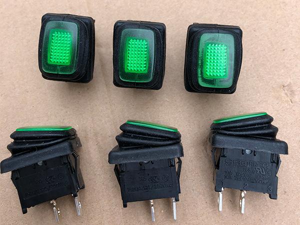 KBE-35磁力钻附件-绿色开关图