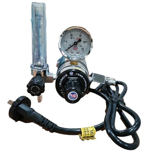 气体保护焊机二氧化碳表